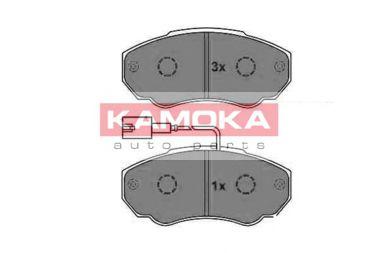 Колодки гальмівні дискові передні, комплект KAMOKA JQ1012956