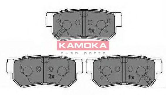 Комплект тормозных колодок, дисковый тормоз  арт. JQ1013212