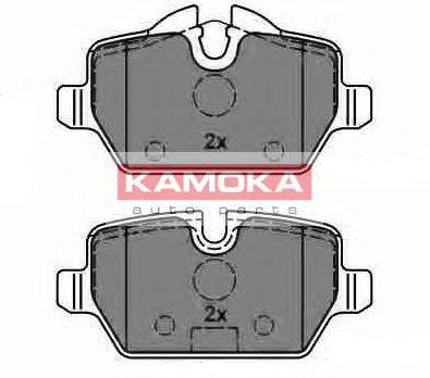 Комплект тормозных колодок, дисковый тормоз  арт. JQ1013612