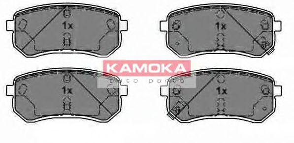 Комплект тормозных колодок, дисковый тормоз  арт. JQ1013804