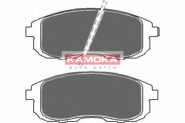 Комплект тормозных колодок, дисковый тормоз  арт. JQ1018224