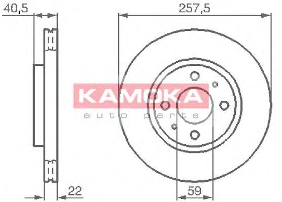 Тормозной диск  арт. 1031524