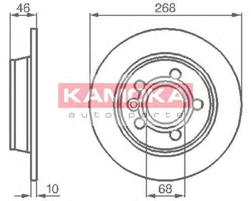Тормозной диск  арт. 1031694