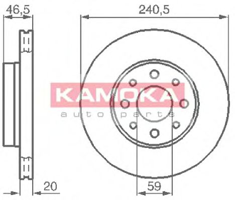 Тормозной диск  арт. 1031776