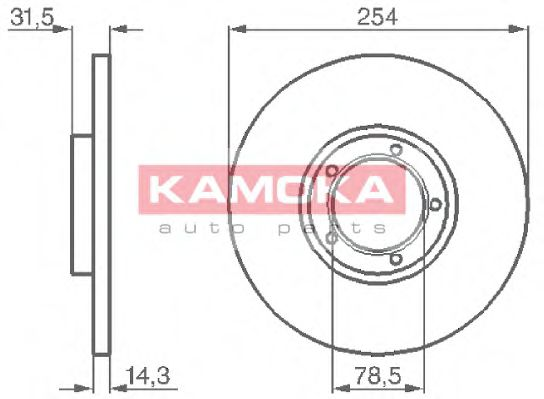 Тормозной диск  арт. 103276