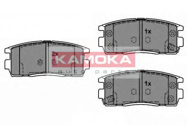 Комплект тормозных колодок, дисковый тормоз  арт. JQ1018370