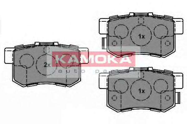 Комплект тормозных колодок, дисковый тормоз  арт. JQ1018538