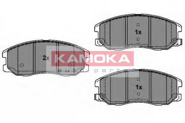 Комплект тормозных колодок, дисковый тормоз  арт. JQ1018616