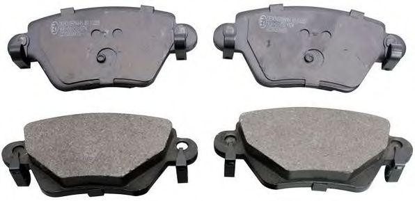 Гальмівні колодки дискові зад. Ford Mondeo 1.8/2.0/2.5 00- Renault Kangoo 1.6/1.9D 10.01-  DENCKERMANN B110228