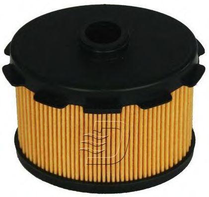 Фильтр топлива PEUGEOT/CITROEN 1.9D (DW8) 04/98- /овальный/ DENCKERMANN A120356