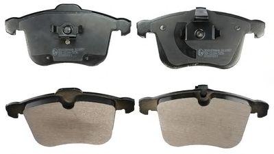 Комплект тормозных колодок, дисковый тормоз LPR арт. B110957