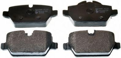 Гальмівні колодки диск.задні BMW 1 (E81), 3 (E90) 1.6i/1.8i/2.0 03-  DENCKERMANN B111123