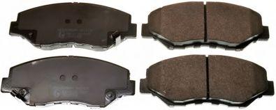 Колодки гальмiвнi дисковi пере Honda CR-V -06 DENCKERMANN B111170