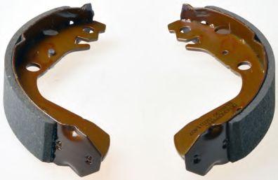 Барабанні гальмівні колодки Honda Jazz 02- DENCKERMANN B120190