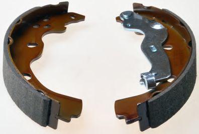 Барабанні гальмівні колодки Suzuki SX4 06- DENCKERMANN B120112