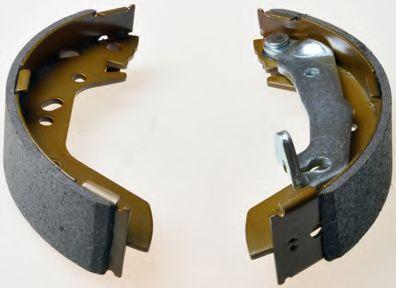 Гальмівні колодки барабанні зад. Hyundai Accent 1.3-1.6 94-05 DENCKERMANN B120123