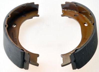 Барабанні гальмівні колодки (ширина 40mm) DB Sprinter Series (W909)/G-Series (W463)/Sprinter Series (W901)/Sprinter Series (W902)/Sprinter Series (W903)/LT/G Series (95-17) DENCKERMANN B120128