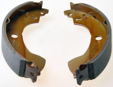 Барабанні гальмівні колодки Nissan Almera 02- DENCKERMANN B120134
