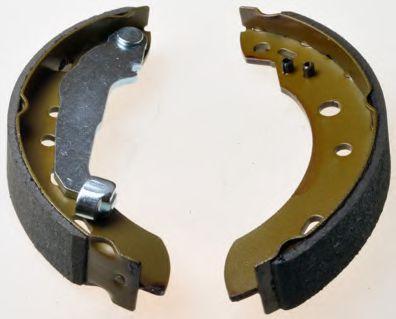 Барабанні гальмівні колодки Nissan Micra 98- DENCKERMANN B120135