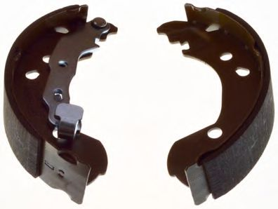 Гальмівні колодки барабанні зад. Nissan Micra III,Note/Renault Clio III/Modus 1.2-1.6 11.04-  DENCKERMANN B120136