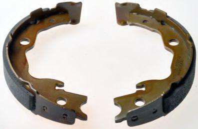 Барабанні гальмівні колодки Renault Koleos/Nissan Qashqai 07- DENCKERMANN B120168