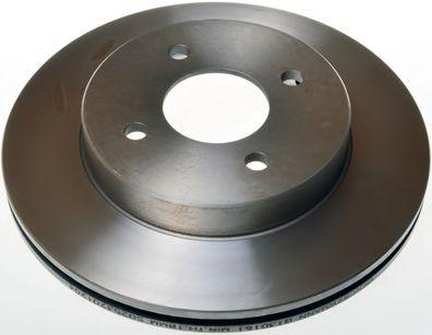 Диск гальмівний перед. Nissan Almera 1.4I,1.6I,2.0D 97.07-  DENCKERMANN B130161