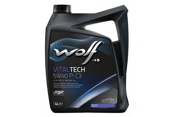 VITALTECH 5W40 PI C3 4л WOLF 8302916