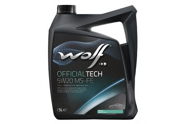 OFFICIALTECH 5W20 MS-FE 5Lx4 WOLF 8320385