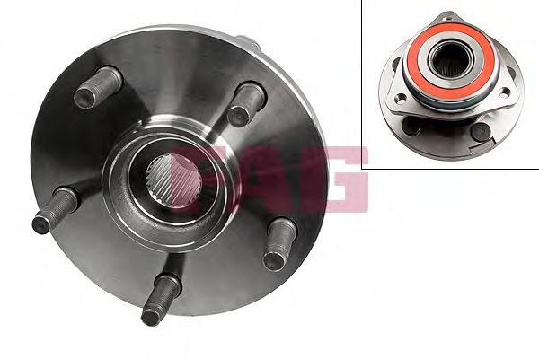 Комплект подшипника ступицы колеса  арт. 713670030