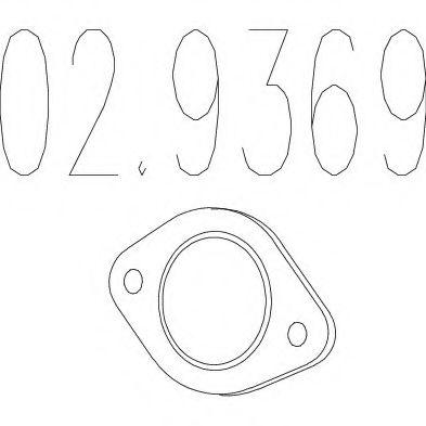 Монтажное кольцо выхлопной системы  арт. 029369