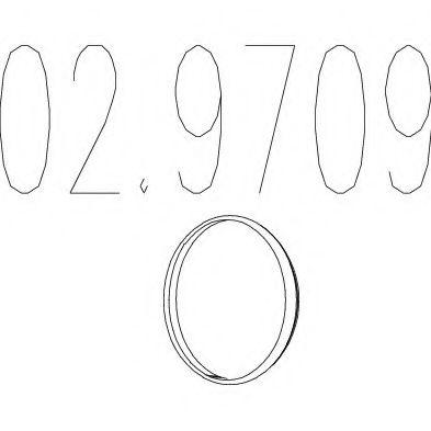 Монтажное кольцо выхлопной системы  арт. 029709