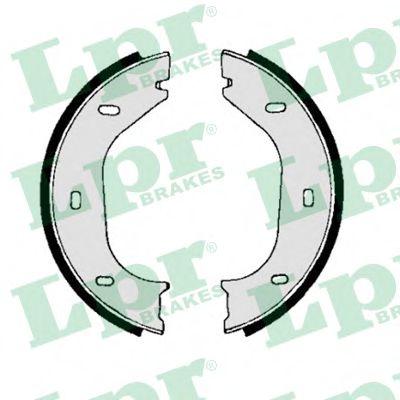 00010  LPR - Гальмівні колодки до барабанів (HB) LPR 00010