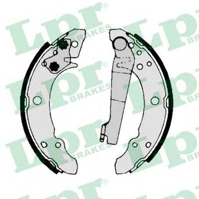 00140  LPR - Гальмівні колодки до барабанів LPR 00140