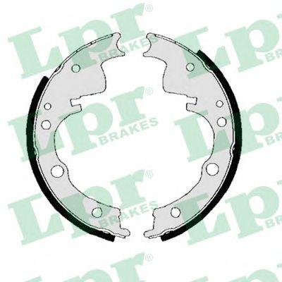 00240B  LPR - Гальмівні колодки до барабанів LPR 00240B