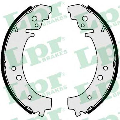 00730  LPR - Гальмівні колодки до барабанів LPR 00730