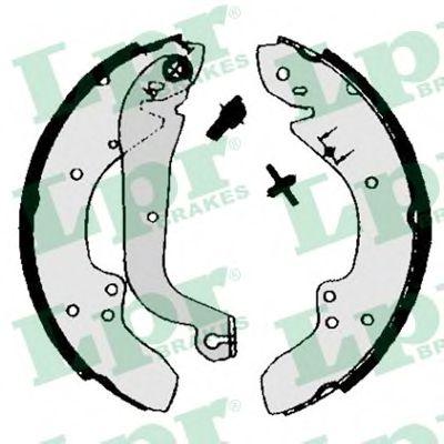00930  LPR - Гальмівні колодки до барабанів LPR 00930