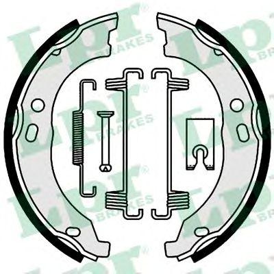 01003  LPR - Гальмівні колодки до барабанів LPR 01003