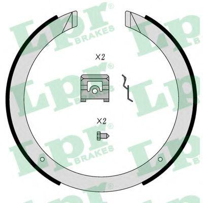 01098  LPR - Гальмівні колодки до барабанів HB LPR 01098