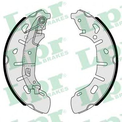 01101  LPR - Гальмівні колодки до барабанів LPR 01101