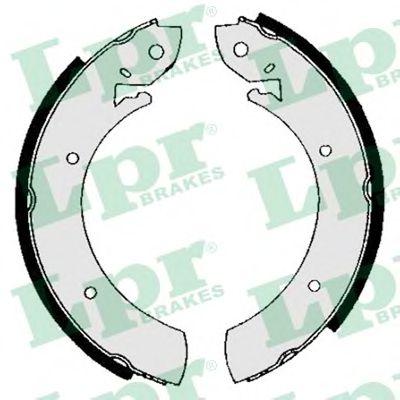01150  LPR - Гальмівні колодки до барабанів LPR 01150