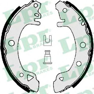 01380  LPR - Гальмівні колодки до барабанів LPR 01380