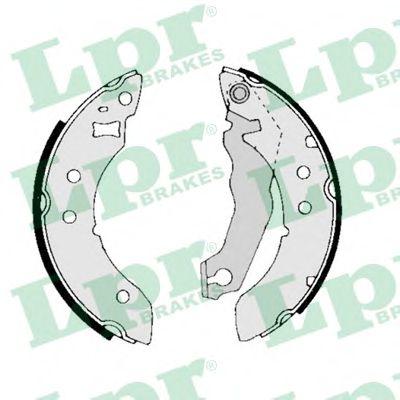 01390  LPR - Гальмівні колодки до барабанів LPR 01390