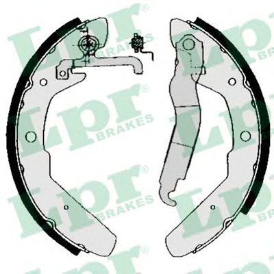 03970  LPR - Гальмівні колодки до барабанів LPR 03970