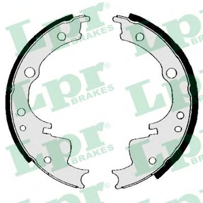04330  LPR - Гальмівні колодки до барабанів LPR 04330