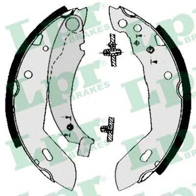 04480  LPR - Гальмівні колодки до барабанів LPR 04480