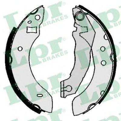 04600  LPR - Гальмівні колодки до барабанів LPR 04600