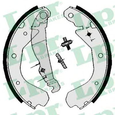 04640  LPR - Гальмівні колодки до барабанів LPR 04640