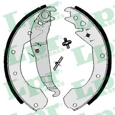 04650  LPR - Гальмівні колодки до барабанів LPR 04650