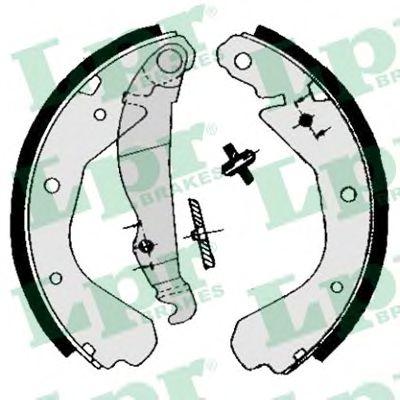 04660  LPR - Гальмівні колодки до барабанів LPR 04660