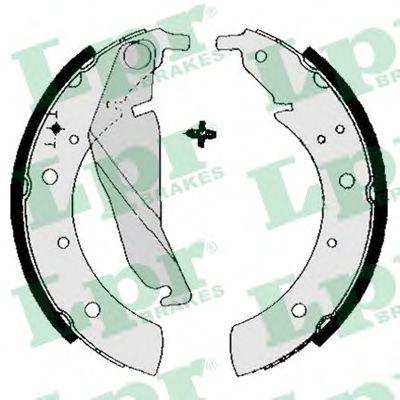 04680  LPR - Гальмівні колодки до барабанів LPR 04680